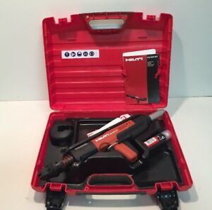 Hilti Dx 351 ct Powder Actuated Nail Gun Nailer Kit W box Accessories Exc Cond