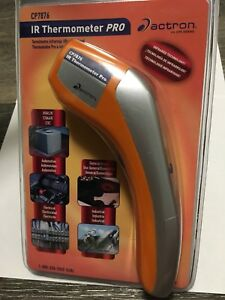 Actron Cp7876 Infrared Thermometer Pro With Laser Pointer For Automotive Hvac