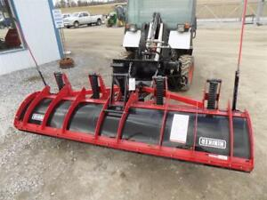 Hiniker 96 Snow Blade For Skid Steer Loaders Ssl Quick Attach Hydraulic Angle