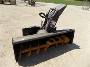 Ffc 72 Snow Blower For Skid Steer Loaders Ssl Quick Attach Hydraulic Chute
