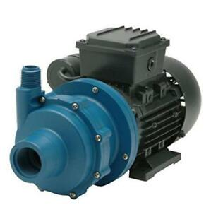Finish Thompson Db3p m612 Centrifugal Magnetic Drive Pump Polypro 1 8 Hp
