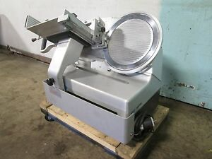bizerba Sg8d H d Commercial Counter top nsf 13 Blade Automatic Meat Slicer