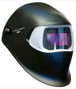 3m Speedglas Black Welding Helmet Auto darkening Filter 100v Shades 8 12