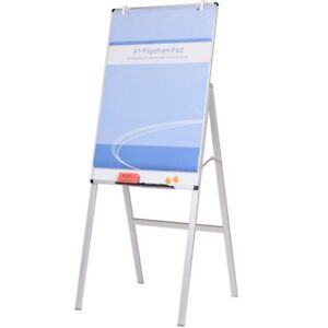 Viz pro Adjustable Whiteboard H type Dry Erase Board Magnetic 24 X 36 Inches