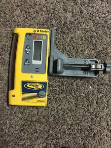 Used Spectra Precision Cr600 Laser Receiver W Rod Clamp On Sale