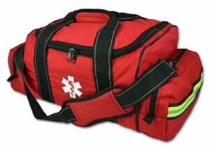 Lightning X Large Emt Medic First Responder Ems Trauma Jump Bag W red