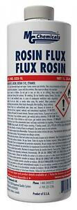 Mg Chemicals Liquid Rosin Flux For Leaded And Lead Free Solder 1 Liter Bottle