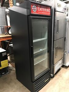 2014 True Glass Door Refrigerator Tested Runs Good
