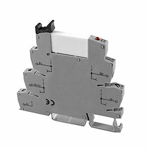 12v Terminal Block Relay Din Mount 6a At 250vac Spdt 26 14 Awg 10 Pack Asi32804