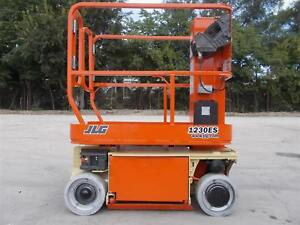2009 Jlg 1230es Scissor Platform Lift Manlift Vertical Lift Manlift