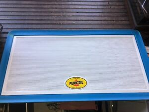 Penzoil Sign Menu Board Advertising 41 X 21
