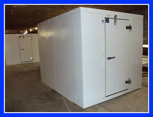 10 x14 x8 2 New Foster Walk In Cooler With Refrigeration Floor