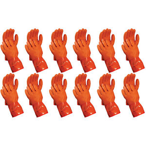 Atlas 460 Vinylove Cold Weather Pvc Insulated Freezer Large Gloves 12 pairs