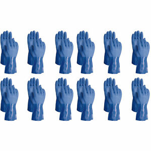 Atlas 660 Vinylove Triple Dipped Large Textured Pvc Work Gloves 24 pairs