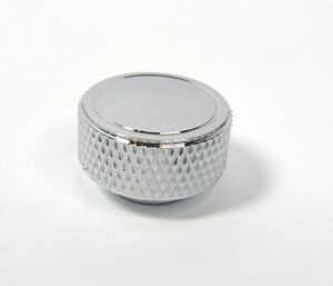 Chrome Knurled Round Air Cleaner Wing Nut 14 20 Thread