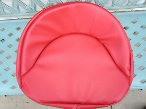 Seat Pan Padded Cushion Farmall Red A B C H M 100 200 Tractor Restoration
