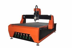 1300x2500mm 3kw Woodworking Cnc Router Water Cooling Vacuum Hold Down Table