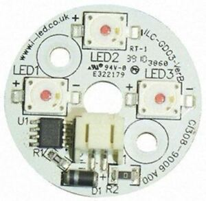 Ils Ilc gd03 red1 sd101 Dragon3 Coin Circular Led Array 3 Red Leds