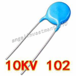 New High Voltage Ceramic Capacitor 10kv102 10000v 1000pf