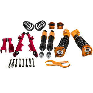 New Coilovers Kits For Ford Mustang 4th 94 04 Adj Height Control Arms