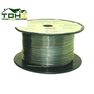 Aluminum Wire 1 4 Mile 17 Gauge Electric Fence Lightweight Durable Easy To Use