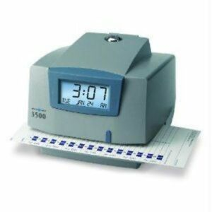 Pyramid 3500 Time Clock Document Stamp