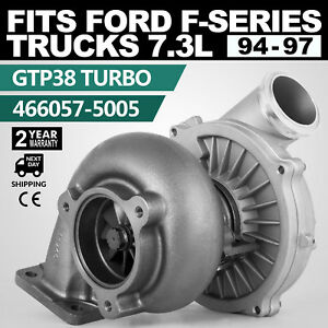 94 97 Ford Powerstroke 7 3l Upgraded Tp38 Turbo Charger With 3 5 Intake Hose
