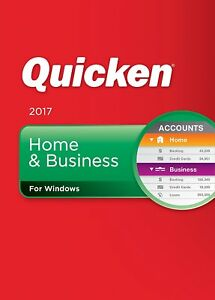 Quicken 2017 Home Business Personal Finance Budgeting
