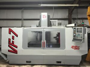 Haas Vf 7 Cnc Mill Vertical Machining Center Vf 4 Vf 5 Vf 6