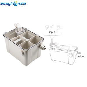 Dental Plaster Trap Powder Filter Water Separator For Clinic Lab Sink Easyinsmil