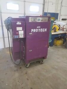Bauer Rotary Screw Air Compressor silent Cabinet 25 Hp Rc25 good Condition
