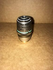 Nikon Plan Fluor Elwd 20x 0 45 Wd 7 4 Dic L For Eclipse Microscope Objective