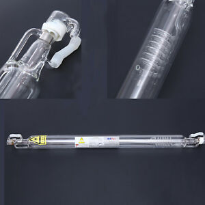 50w Co2 Laser Tube Glass Pipe 800 Mm 10 6 m For Engraving Machine