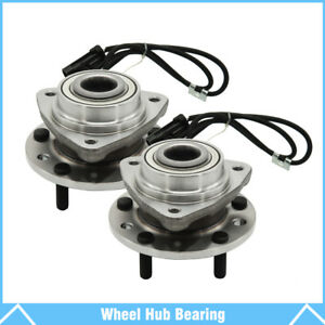 2 Front Wheel Bearings Hub For Chevrolet S10 Blazer Gmc Jimmy Sonoma Oldsmobile