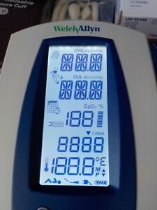 Welch Allyn 42mtb Patient Monitor And Accessories