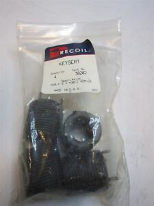 Recoil 78202 Carbon Steel Thread Locking Inserts M20x1 50mm Pack Of 4