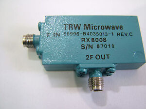 Rf Frequency Doubler In 1 4ghz Out 2 8ghz Trw Rx8008 Multiplier X2