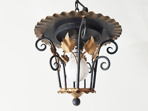 Adorable Small Chandelier Lantern 1950 Vintage Rockabilly 50s 50 S Years 50
