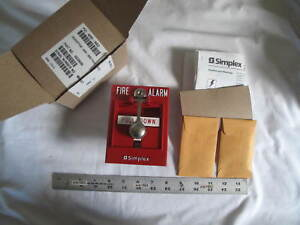 1 New Simplex 4099 9022 Addressable Fire Alarm Pull Station Assembly