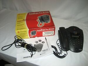 Used Polycom Soundpoint Pro Se 220 Conference Phone Speakerphone Does Not Work