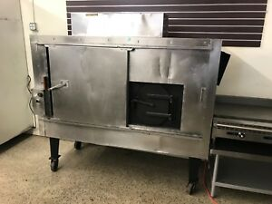 Southern Pride Gas wood Fired Commercial Roasting Barbecue Oven Smoker Bbr 79 2