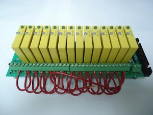 Grayhill 70grck16 hl Relay I o Mounting Board W 14 Grayhill 70g iac5 Ac Modules