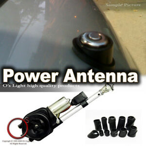 Electric Power Antenna Stereo Am Fm Radio Motor Mast Aerial Combo For Lincoln