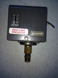 Honeywell High Water Pressure Switch