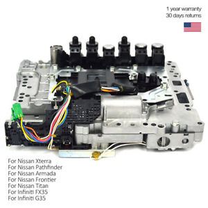 Transmission Valve Body Assembly For Nissan Pathfinder Xterra Armada Re5r05a Bin