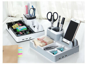 New Accessories Organizer Pencil Pen Holders For Desk Top School Office Supply