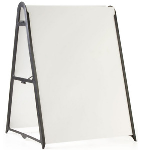 Adjustable 24 Portable Outdoor Plastic Sidwalk Sign Frame For Poster Boards