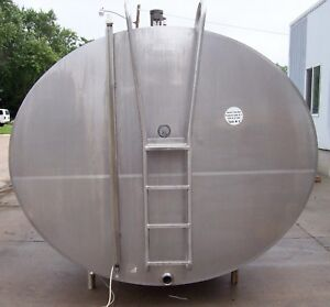 Darikool 6000 Gallon Stainless Steel Bulk Milk Cooling Farm Tank 35588g