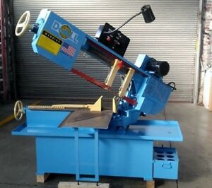 Doall C916s Swivel Head Horizontal Band Saw Coolant 9 X 16 Capacity 10 3 4 Rd