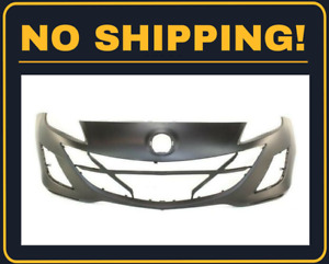 New Front Bumper Cover For Mazda 3 2010 2011 2 0 Engine Models Ma1000223